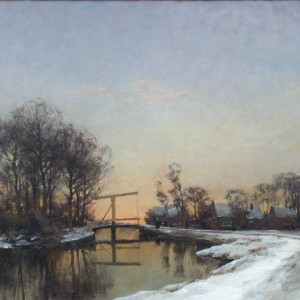 Jan Hillebrand Wijsmuller (1855-1925) - Winter middag